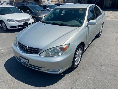 2002 Toyota Camry for sale at 101 Auto Sales in Sacramento CA