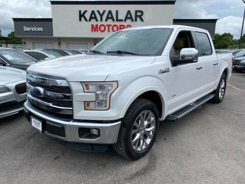 2015 Ford F-150 for sale at KAYALAR MOTORS in Houston TX