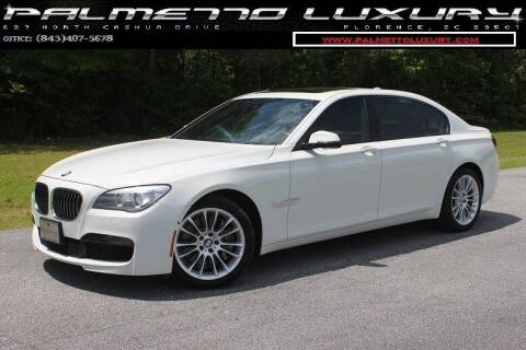 2014 BMW 7 Series for sale at Palmetto Luxury Cars in Florence SC