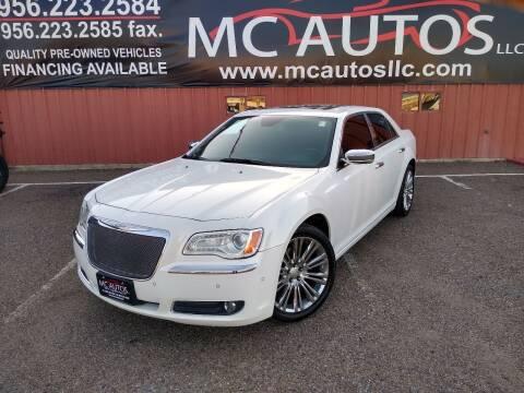 2011 Chrysler 300 for sale at MC Autos LLC in Pharr TX