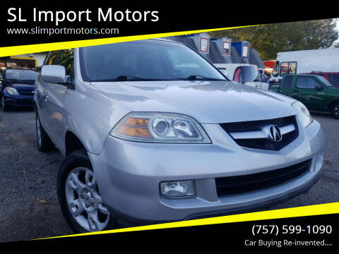 2004 Acura MDX for sale at SL Import Motors in Newport News VA