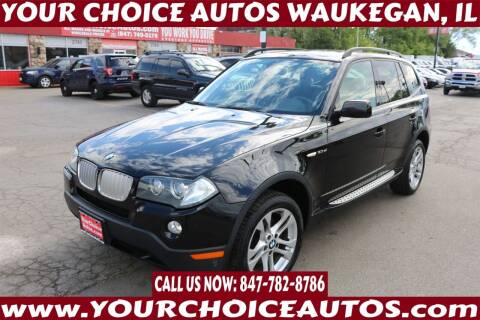 2008 BMW X3 for sale at Your Choice Autos - Waukegan in Waukegan IL