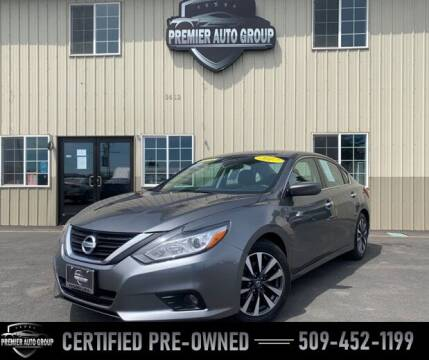 2017 Nissan Altima for sale at Premier Auto Group in Union Gap WA