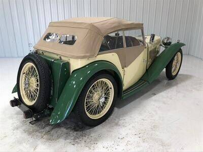 1947 MG TC for sale at Dream Machines USA in Lantana FL