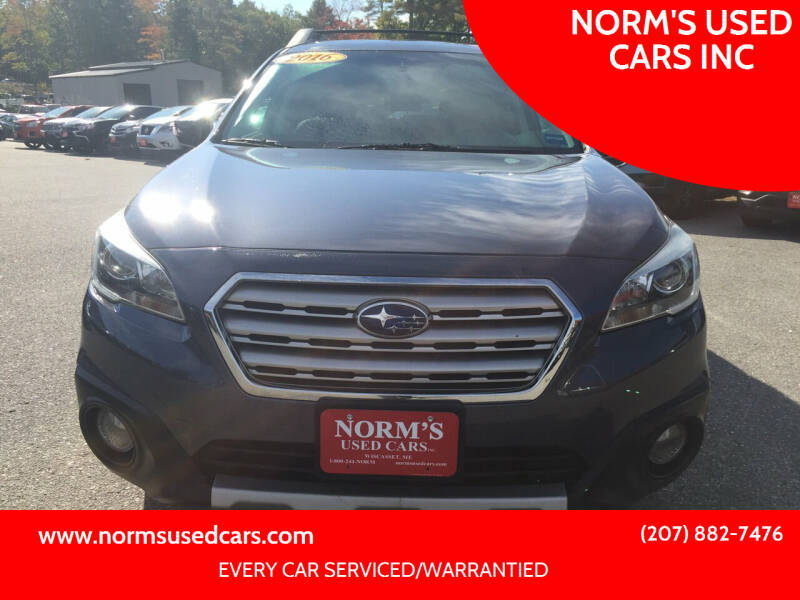 2016 Subaru Outback for sale at NORM'S USED CARS INC in Wiscasset ME