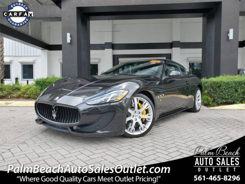 2014 Maserati GranTurismo for sale in West Palm Beach, FL