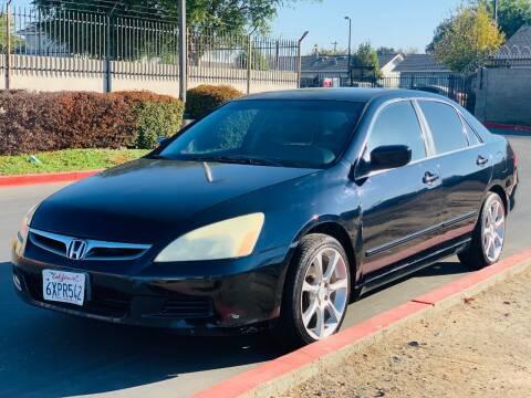 2007 Honda Accord for sale at United Star Motors in Sacramento CA