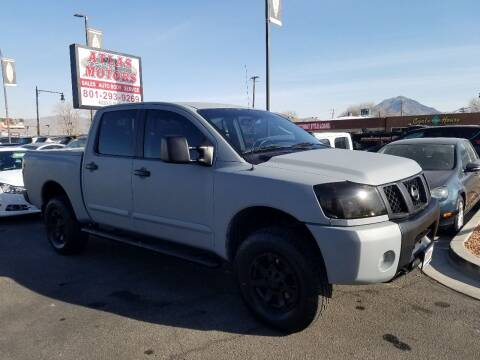 2004 Nissan Titan for sale at ATLAS MOTORS INC in Salt Lake City UT