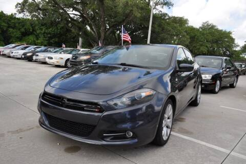 2013 Dodge Dart for sale at STEPANEK'S AUTO SALES & SERVICE INC. in Vero Beach FL