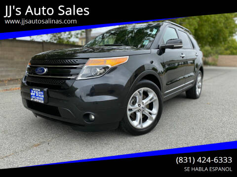 2015 Ford Explorer for sale at JJ's Auto Sales in Salinas CA