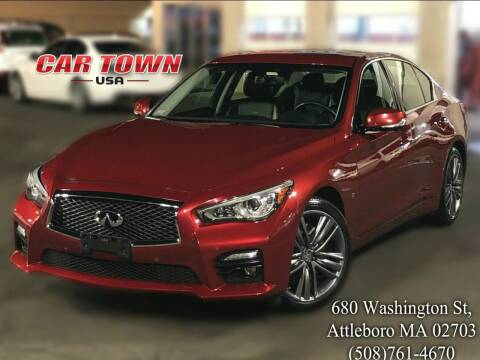 2014 Infiniti Q50 for sale at Car Town USA in Attleboro MA