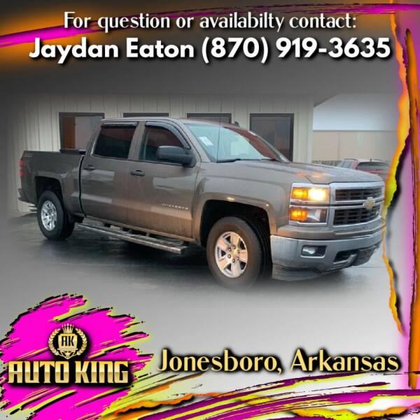 2014 Chevrolet Silverado 1500 for sale at AUTO KING in Jonesboro AR