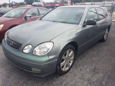 2001 Lexus GS 300 for sale at Castle Used Cars in Jacksonville FL