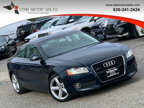 2009 Audi A5 for sale at Star Motor Sales in Downers Grove IL