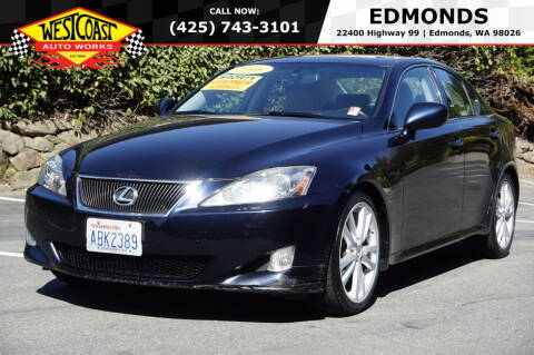 2006 Lexus IS 250 for sale at West Coast Auto Works in Edmonds WA