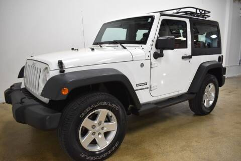 2012 Jeep Wrangler for sale at Thoroughbred Motors in Wellington FL