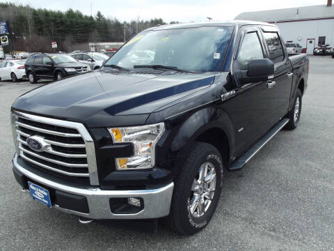 2017 Ford F-150 for sale at Ripley & Fletcher Pre-Owned Sales & Service in Farmington ME