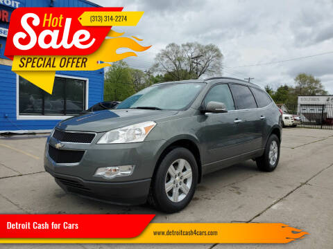 2011 Chevrolet Traverse for sale at Detroit Cash for Cars in Warren MI