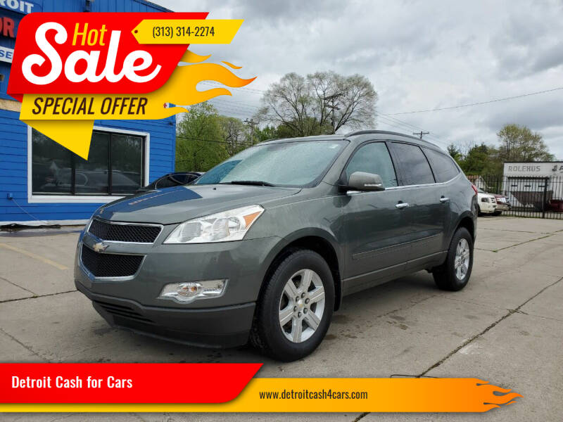 2011 Chevrolet Traverse for sale at Detroit Cash for Cars in Warren MI
