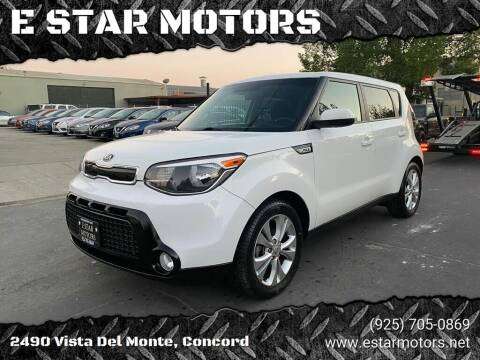 2016 Kia Soul for sale at E STAR MOTORS in Concord CA