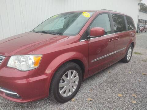 2015 Chrysler Town and Country for sale at Mr E's Auto Sales in Lima OH