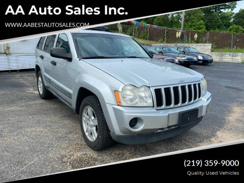 2006 Jeep Grand Cherokee for sale at AA Auto Sales Inc. in Gary IN