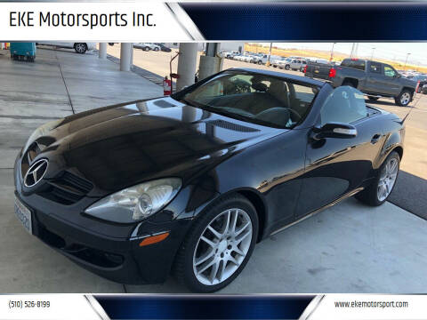 2007 Mercedes-Benz SLK for sale at EKE Motorsports Inc. in El Cerrito CA