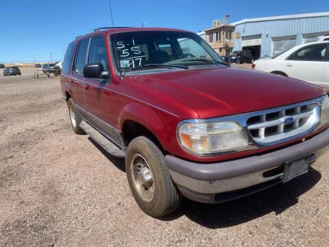 1997 Ford Explorer for sale at PYRAMID MOTORS - Pueblo Lot in Pueblo CO