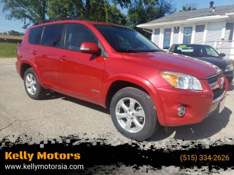 2011 Toyota RAV4 for sale at Kelly Motors in Johnston IA