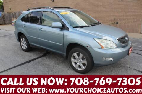 2004 Lexus RX 330 for sale at Your Choice Autos in Posen IL