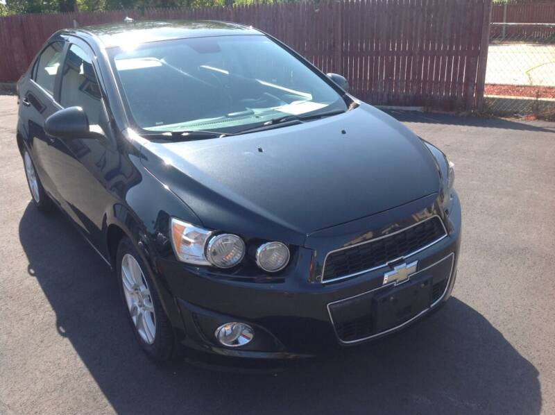2013 Chevrolet Sonic for sale at Sindic Motors in Waukesha WI