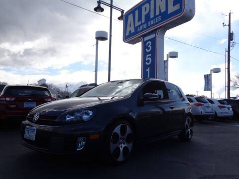 2011 Volkswagen GTI for sale at Alpine Auto Sales in Salt Lake City UT