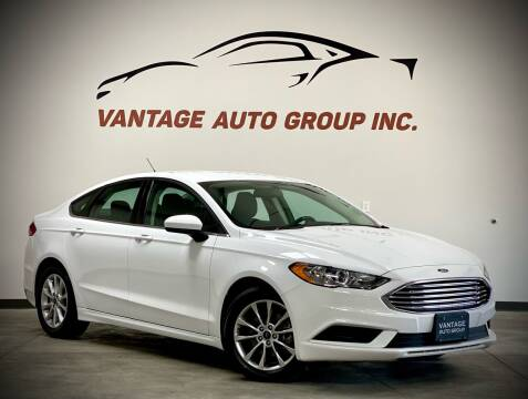 2017 Ford Fusion for sale at Vantage Auto Group Inc in Fresno CA