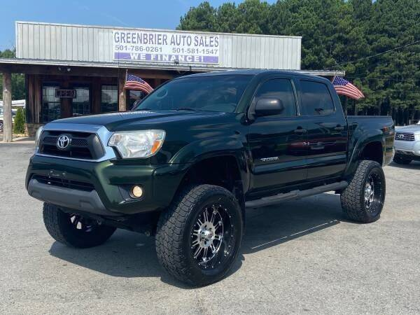 2014 Toyota Tacoma for sale at Greenbrier Auto Sales in Greenbrier AR