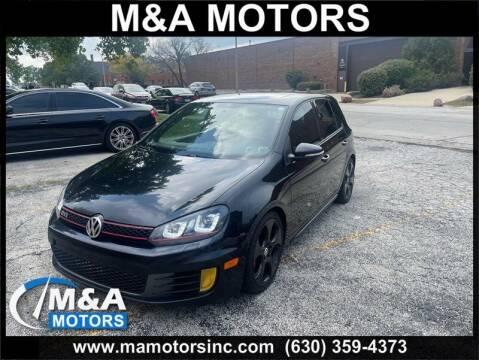 2010 Volkswagen GTI for sale at M & A Motors in Addison IL