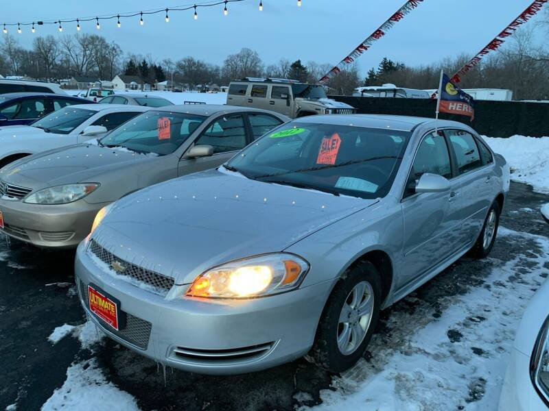 2012 Chevrolet Impala for sale at Ultimate Auto Sales in Crown Point IN