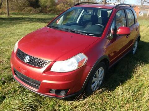2011 Suzuki SX4 Crossover for sale at South Niagara Auto Used Cars & Service in Lockport NY