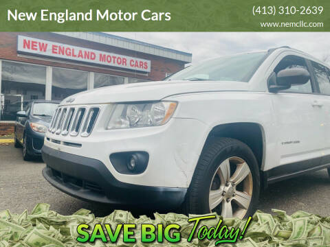 2012 Jeep Compass for sale at New England Motor Cars in Springfield MA