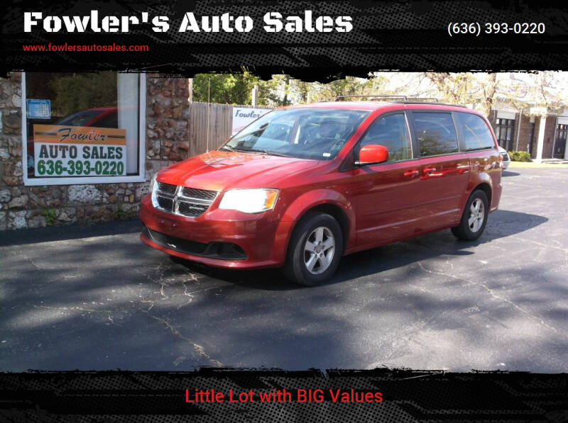 2012 Dodge Grand Caravan for sale at Fowler's Auto Sales in Pacific MO