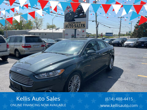 2015 Ford Fusion for sale at Kellis Auto Sales in Columbus OH
