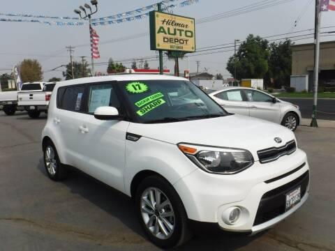 2017 Kia Soul for sale at HILMAR AUTO DEPOT INC. in Hilmar CA
