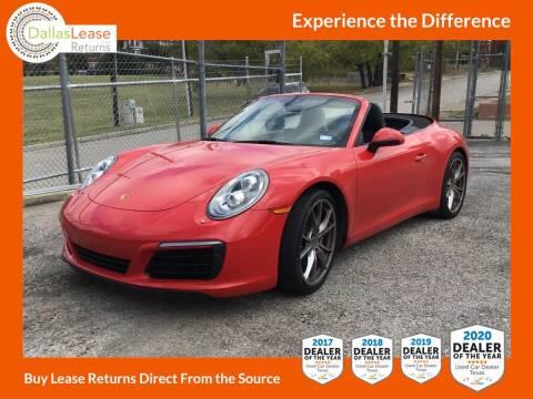 2017 Porsche 911 for sale at Dallas Auto Finance in Dallas TX