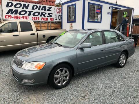 2000 Toyota Avalon for sale at DON DIAZ MOTORS in San Diego CA