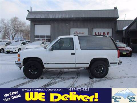 1994 Chevrolet Blazer for sale at QUALITY MOTORS in Salmon ID