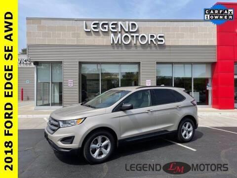 2018 Ford Edge for sale at Legend Motors of Detroit - Legend Motors of Waterford in Waterford MI