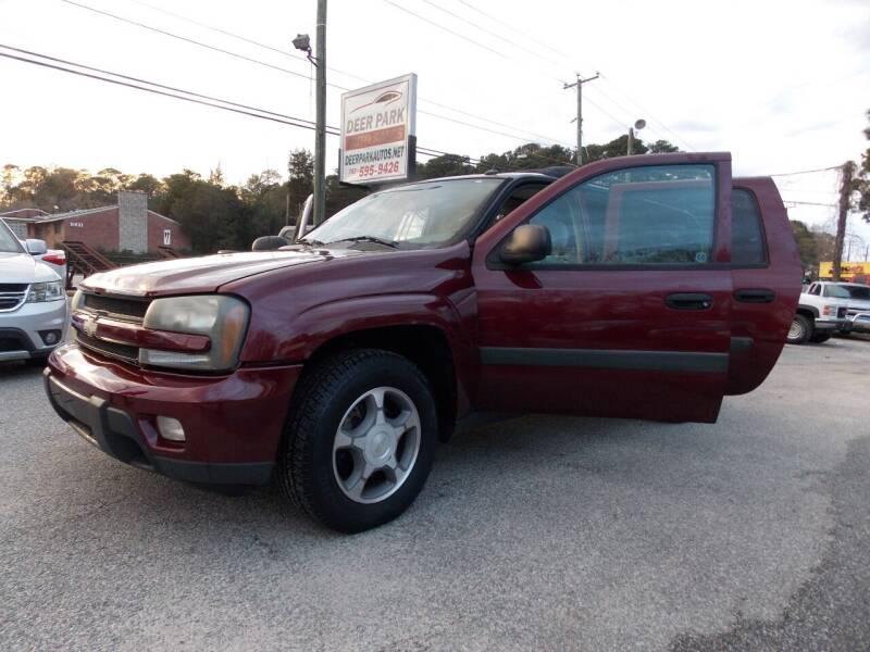 2005 Chevrolet TrailBlazer EXT for sale at Deer Park Auto Sales Corp in Newport News VA