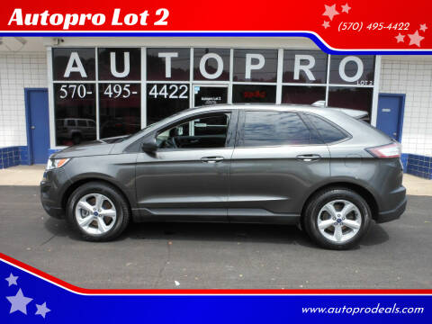 2015 Ford Edge for sale at Autopro Lot 2 in Sunbury PA