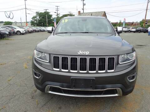 2015 Jeep Grand Cherokee for sale at Merrimack Motors in Lawrence MA