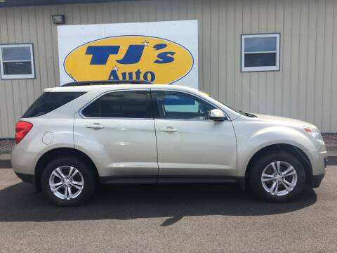 2013 Chevrolet Equinox for sale at TJ's Auto in Wisconsin Rapids WI