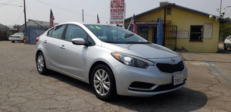2016 Kia Forte for sale at Autosales Kingdom in Lancaster CA
